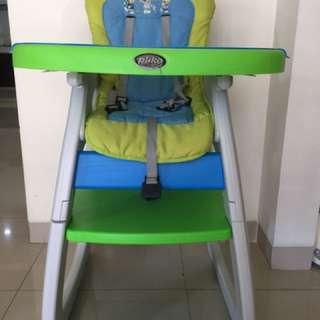 Baby chair kursi makan bayi pliko
