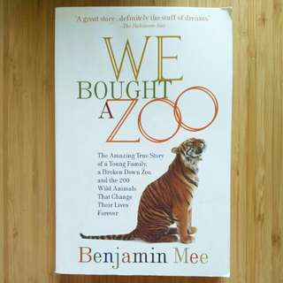 We Bought A Zoo - Benjamin Mee