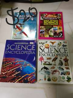 Science Primary 1, 2, 3, 4, 5