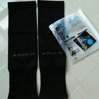 Arm sock /sleeve Aqua.x