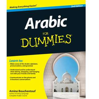 Arabic For Dummies (2nd Ed) with audio files