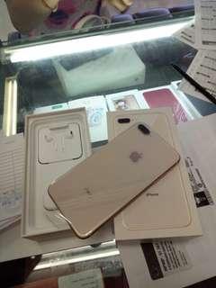 Apple iPhone 8 Plus Gold 256gb Kredit Cepat Tanpa CC