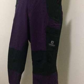 Consina Women Series: 3/4 Purple Hiking Pants XL