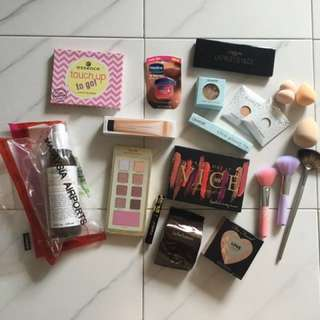 Assorted make up