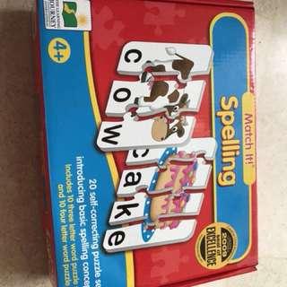Kid's educational card game