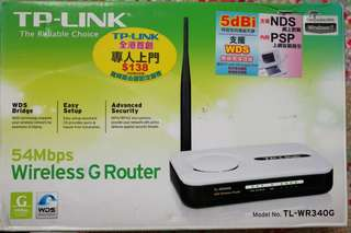 Tp-link TL-WR340G  54Mbps Wireless G Router