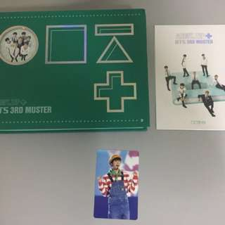 [CHRISTMAS SALE] BTS 3rd Muster DVD with Jin PC
