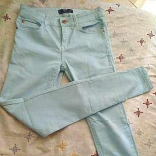Mango Soft Pants (Light Blue)