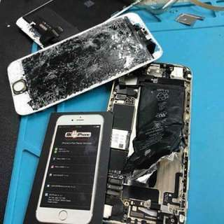 repair iphone face to face