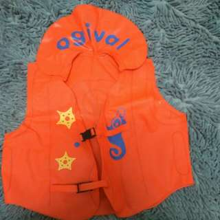 Baby Kid Inflatable table safety Jacket Float