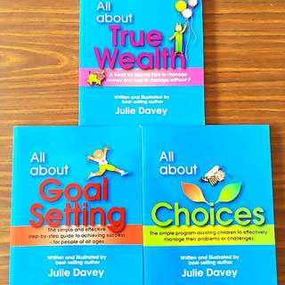 3 for $16.20: By Julie Davey: All about Choices, Goal Setting, True Wealth #Contiki2018