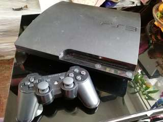 PS3 160G 超薄版 100% work 連兩個手製