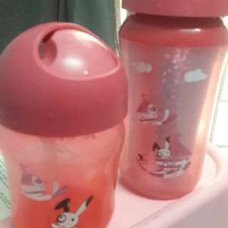 Philips Avent Straw Cup ( Mix ) Used