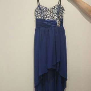 Size 9 ball strapless dress brand new