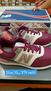 New Balance sports shoes for kids