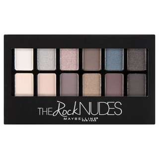 Maybelline rock nude eyeshadow palette