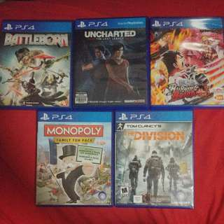 PS4 Preowned Games