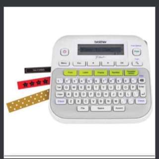 Brother Label maker Ptouch Pt-d210