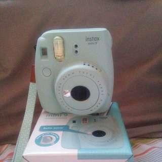 Like new baby blue instax mini 9 @ $90
