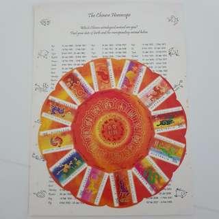 Australia - Zodiac sheetlet