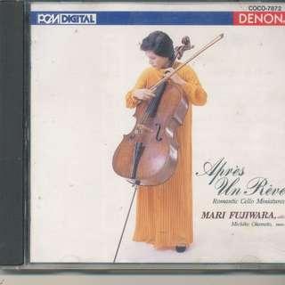 Fujiwara, Mari - Apres Un Reve: Romantic Cello Concertos (AUDIO CD) [b7]