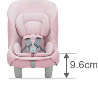 Preloved Combi Coccoro Car Seat (0-18kg) Pink
