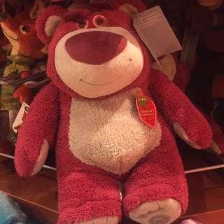 ✈️現貨✈️Disney迪士尼 熊爆哥玩偶 玩具總動員玩偶 美國洛杉磯購入 草莓香味