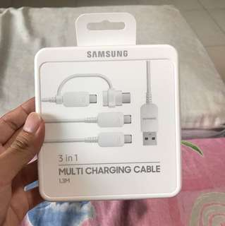 Samsung 3 in 1 Multi Charging Cable