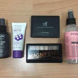 RIMMEL/NYX Make up bundle