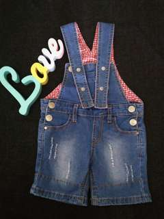 Overall jumpsuit girl 12m