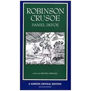 Robinson Crusoe (Norton Critical Editions) by Daniel Dafoe