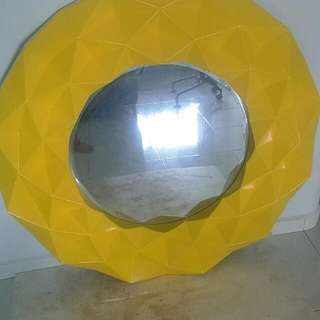 Huge Mirror (Yellow or Pink)