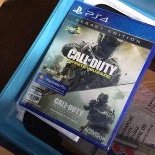 PS4 Call Of Duty Infinite Warfare Legacy edition R3