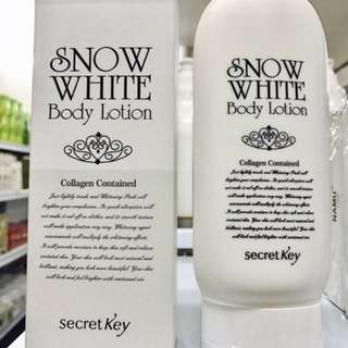 [SNOW WHITE] Whitening Body Lotion 200g