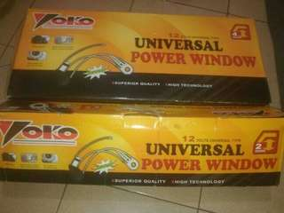power window universal 2 pintu