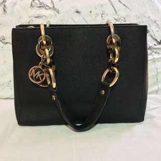 Michael Kors Cynthia Black Bag