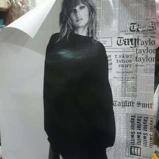 Taylor Swift Reputation 雙面海報
