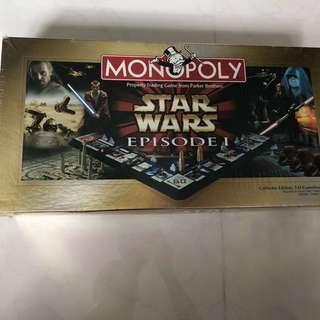 Brand New Monopoly Star Wars Episode 1