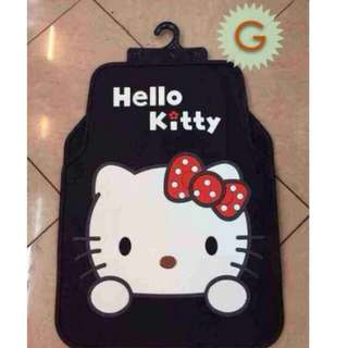 Hello kitty 5 in 1 car mat