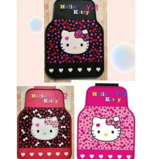 Hello kitty 5 in 1 car mat 😍