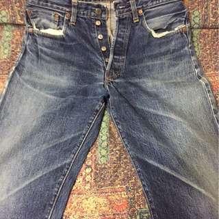 LEVIS BIG E 501XX - broken Jeans