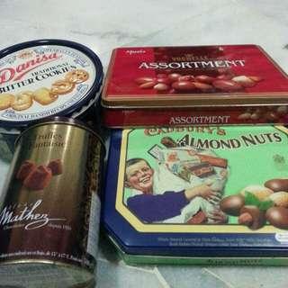 Empty Chocolates & Biscuits Tin