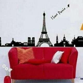 Wallsticker Eiffel
