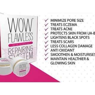 WOW FLAWLESS SKINCARE TREATMENT 3 IN 1