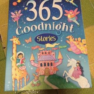 365 goodnight stories book