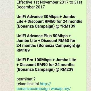 Tm Unifi promotion