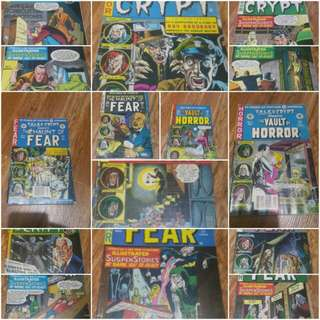Tales From The Crypt Comics (IN MINT CONDITION)