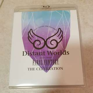Distant Worlds - final fantasy 25th anniversary Blu-ray