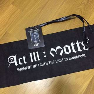 G-dragon/GD VIP act III: motte concert limited goods