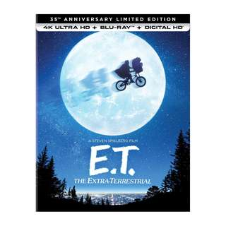 🎁 Festive Season Sales: 🆕 E.T.: The Extra-Terrestrial 4K UHD + Blu Ray (35th Anniversary Limited Edition) 📦